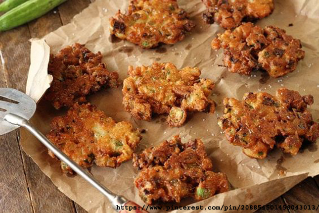 Fried Green Tomato Fritters